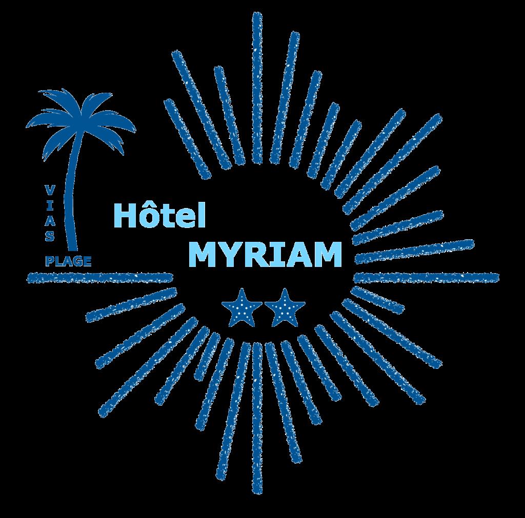 Logo de l'Hôtel Myriam à Vias-Plage (Hérault)