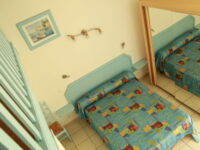 Familial rooms with terrace