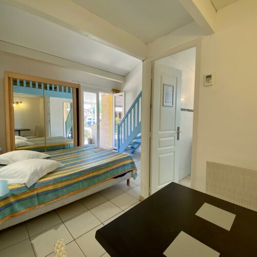 Chambre familiale avec terrasse de l'Hôtel Myriam à Vias-Plage (34)